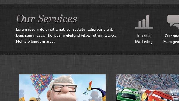 Studio Website PSD Template