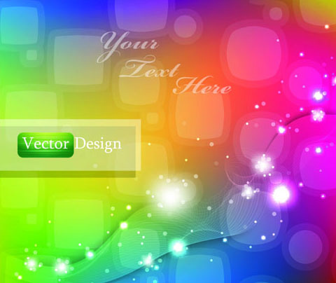 stylish abstract vector background art