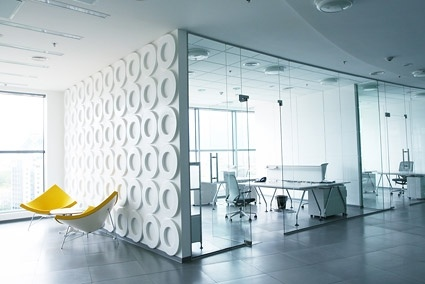 stylish and bright office picture