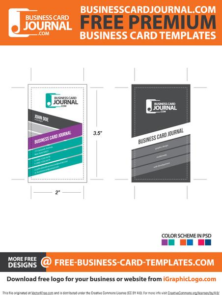 Stylish creative vertical business card template free vector in stylish creative vertical business card template free vector 123mb reheart Choice Image