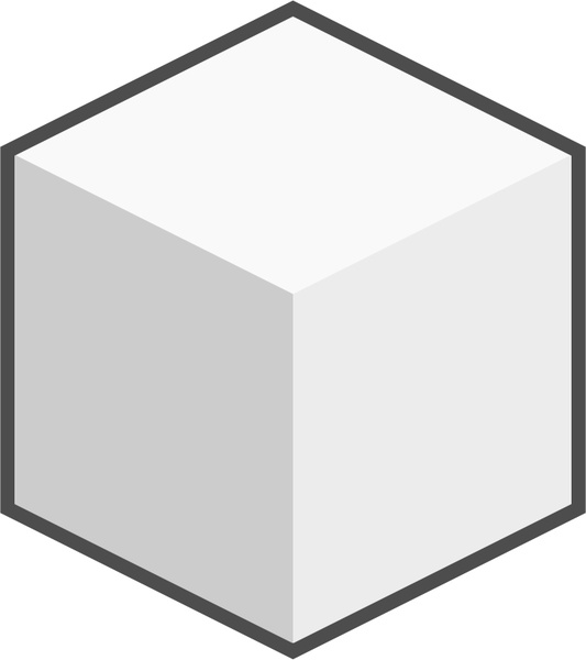 Sugar Cube Icon Free Vector In Open Office Drawing Svg