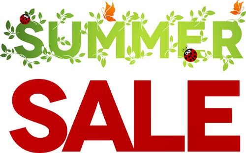 summer sale design graphics vector