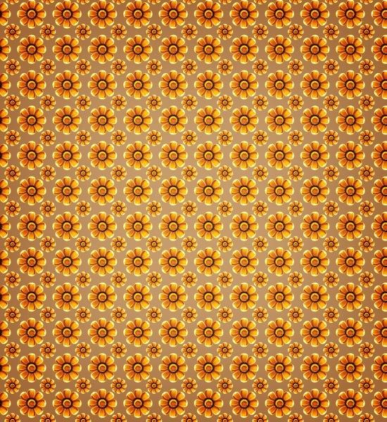 summer sunflower pattern