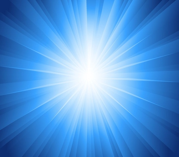 sun rays blue background vector illustration free vector in