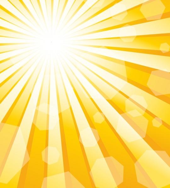 sun rays background bright vivid blurred decor