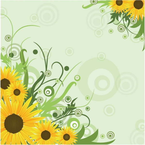 Images Free Download: Sunflower Free Vector Download (245 Free Vector) For