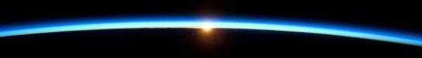 sunrise atmosphere earth