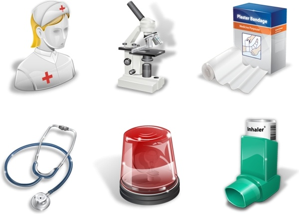 Super vista medical icons icons pack