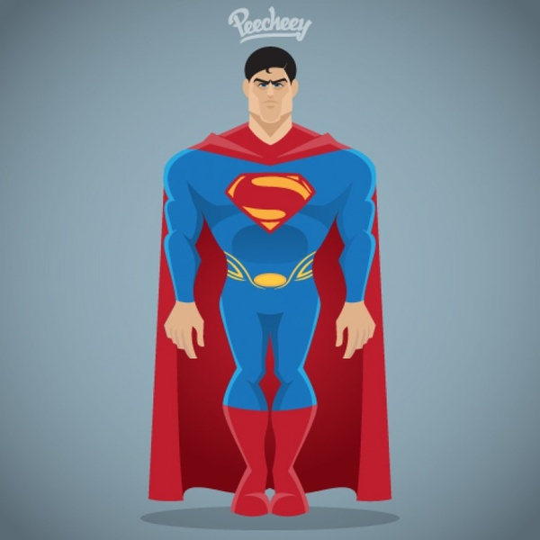 Superman free vector download (25 Free vector) for