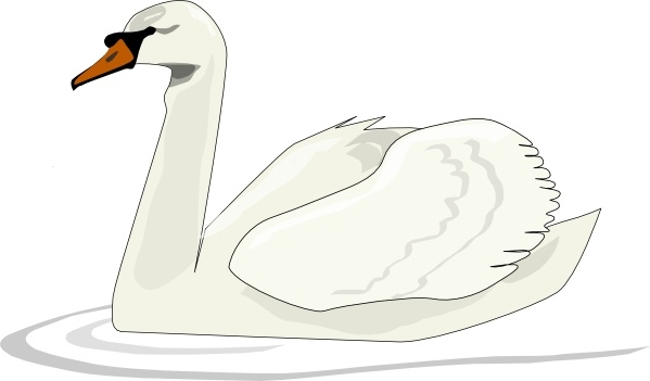 swan swimming clip art free vector in open office drawing svg svg rh all free download com swan clip art with flower swan clip art png