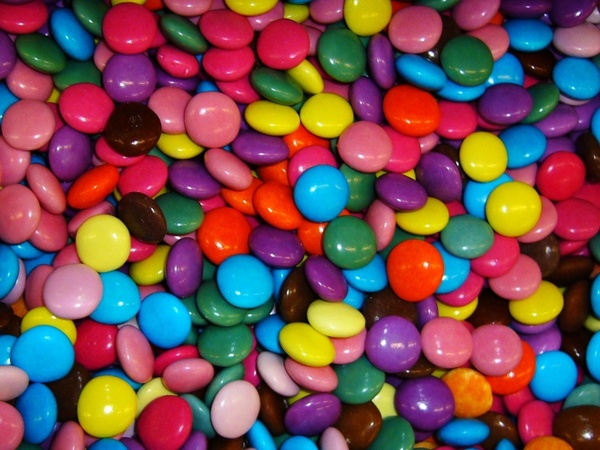 sweets colorful assorted