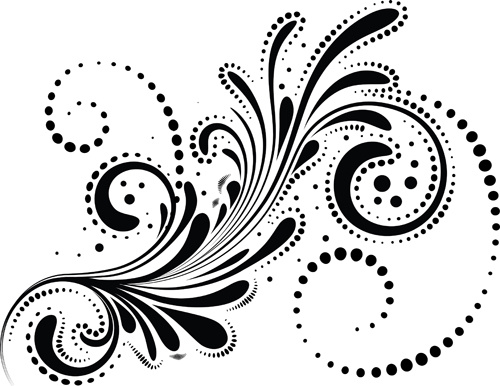 swirls decor design vector set free vector in encapsulated