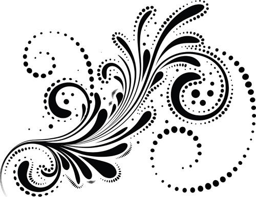 swirls decor design vector set free vector in encapsulated rh all free download com swirl clip art vector Wave Vector Art