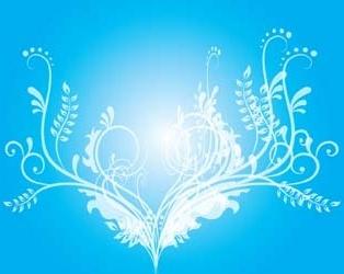 Vector flower design illustrator ai, buble flower vector design.