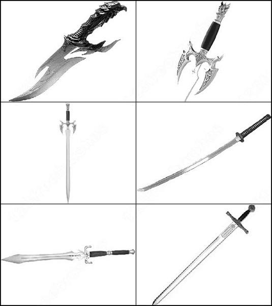 sword brush