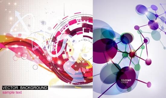 technology background templates modern dynamic design