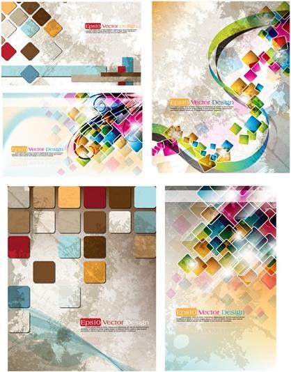 fantasy background templates colorful dynamic grunge decor
