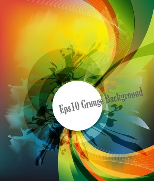 decorative background modern colorful dynamic twist decor
