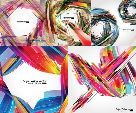 abstract background templates colorful dynamic twist decor