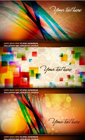 abstract background templates colorful bokeh dynamic decor
