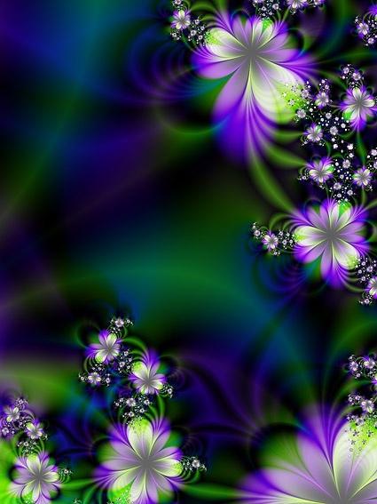 symphony flowers background image 4