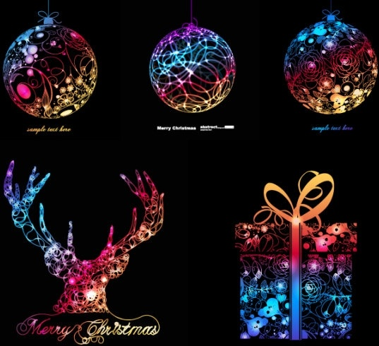 symphony of christmas graphics vector