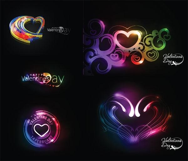 symphony of love valentine day vector