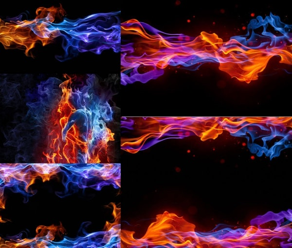 symphony smoke flame highdefinition picture