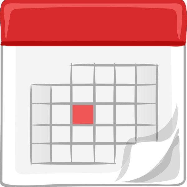 table calendar clip art free vector in open office drawing svg
