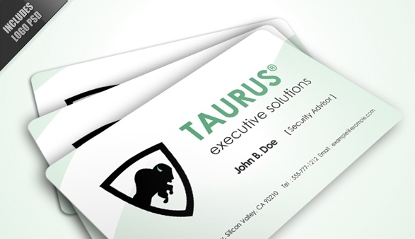 Taurus Logo & Business Card