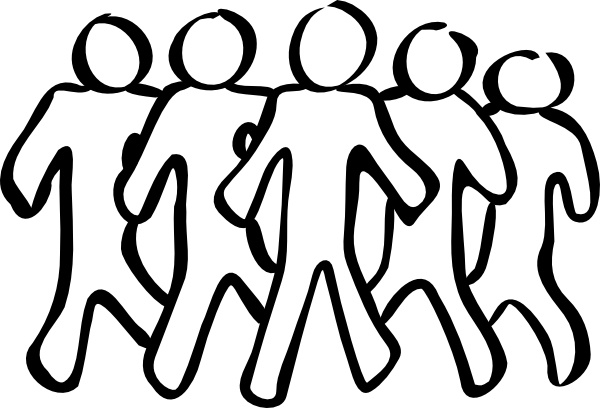 Team Sketch clip art Free vector in Open office drawing svg (  svg