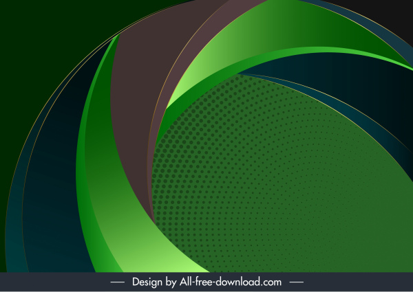 technology background template modern abstract 3d swirled