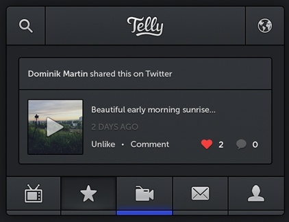 Telly iPhone App