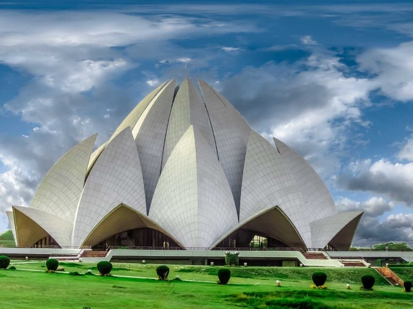 Image result for free image of lotus temple delhi