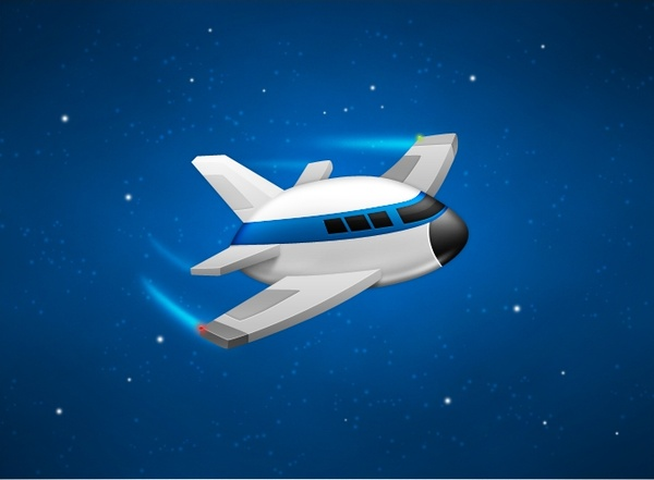 TestFlight App Airplane PSD
