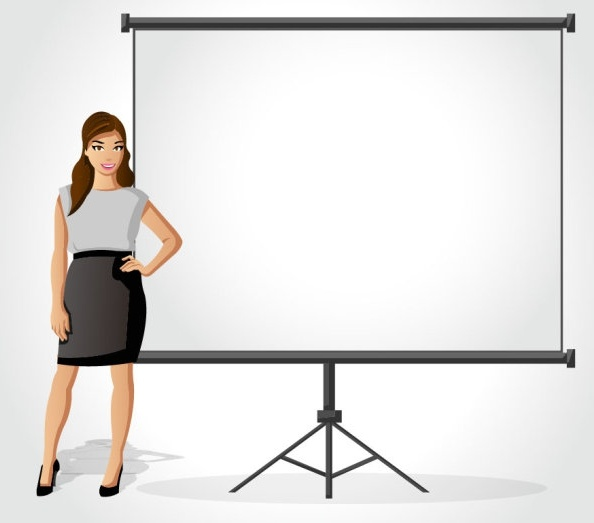 the cartoon business picture background 03 vector