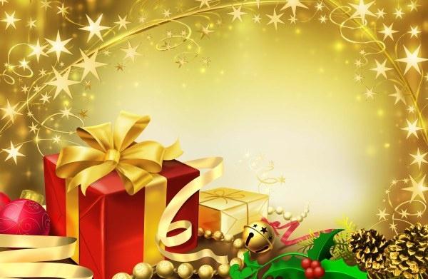 the christmas fantasy starlight gift psd layered