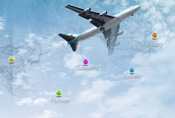the commerce department categories aviation psd layered