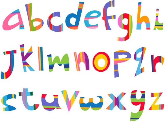 the creative letters designed 10 vector free vector in encapsulated