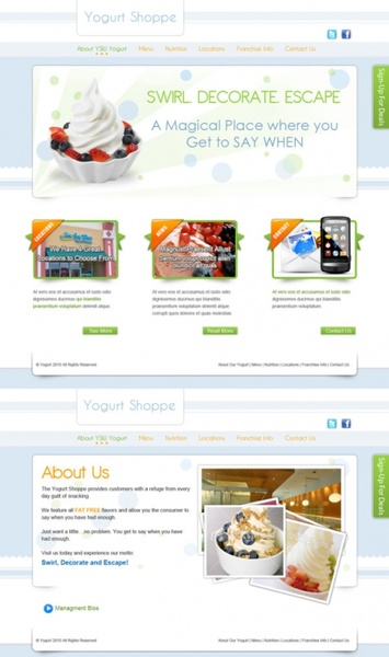 the elegant beverage stores website templates psd layered