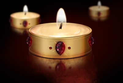 the exquisite candles psd layered