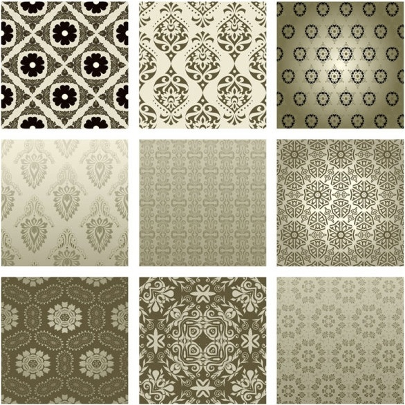 the exquisite pattern background pattern 02 vector