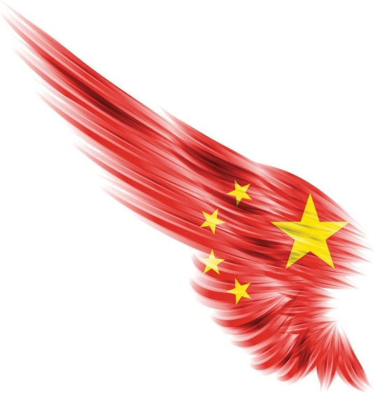 the flag deformation of the wings 01 hd pictures