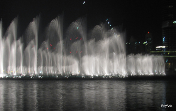 the fountain dance