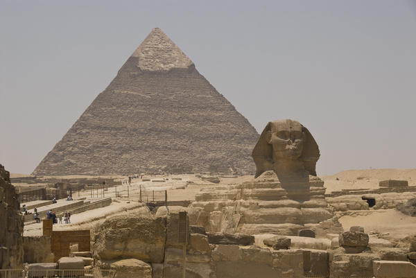 the great pyramid and sphinx egypt