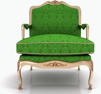 the green chair picture