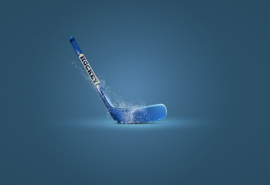 the hockey sticks icons psd layered