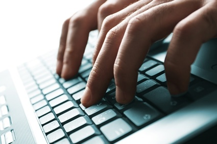 the keyboard stock photo