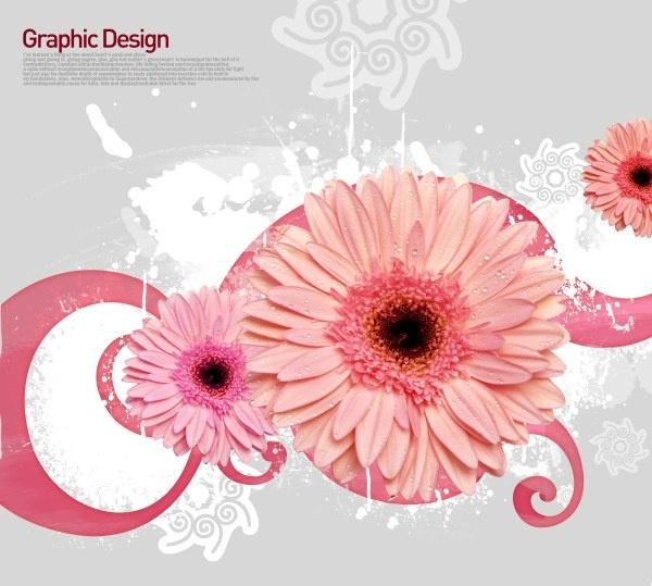 the korea design elements psd layered yi019