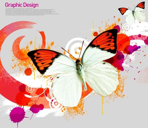 the korea design elements psd layered yi020